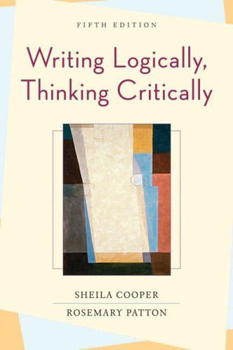Writing Logically Thinking Critically