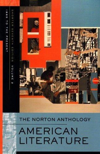 Norton Anthology Of American Literature Volume 2