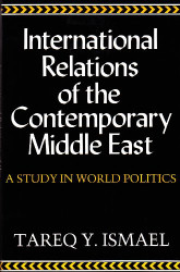International Relations Of The Contemporary Middle East
