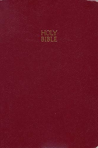 Kjv Giant Print End-Of-Verse Reference Bible