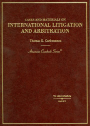 International Litigation And Arbitration