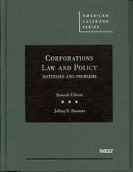 Corporations Law And Policy Materials And Problems