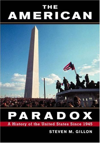the american paradox The american paradox: the traditional fear of federal power and the rising expectations of government a paradox is a statement that leads to a contradiction, a play on words that cannot be.