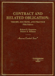 Contract And Related Obligation