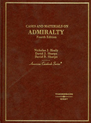 Cases And Materials On Admiralty