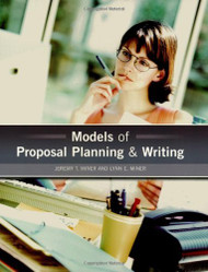 Models Of Proposal Planning And Writing