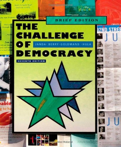 Challenge Of Democracy The Essentials