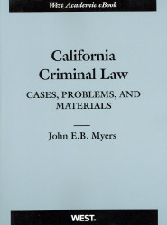 California Criminal Law