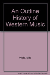 Outline History Of Western Music
