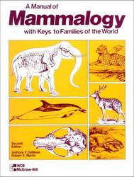 Manual Of Mammalogy