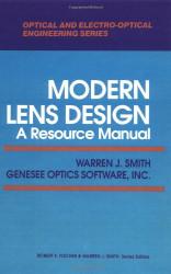 Modern Lens Design