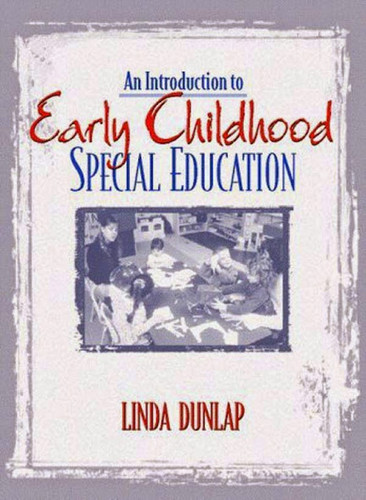 introduction to early childhood education Introduction to early childhood special education: birth to age five / edition 1 this book provides an overview of the variety of special needs children have and reasons that they may place a child at risk.