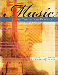 Music In Theory And Practice Volume 1