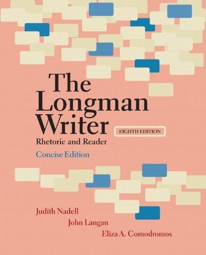 Longman Writer Brief Edition