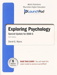 Launchpad For Myers' Exploring Psychology