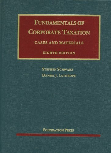 Fundamentals Of Corporate Taxation