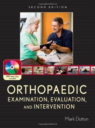 Orthopaedic Examination Evaluation And Intervention