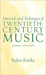 Materials And Techniques Of Post Tonal (20th Century) Music