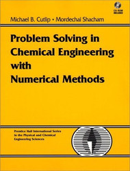 Problem Solving In Chemical And Biochemical Engineering With Polymath Excel And
