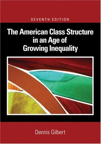 American Class Structure In An Age Of Growing Inequality