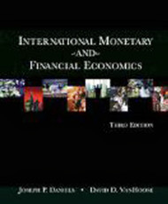 International Monetary And Financial Economics