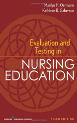 Evaluation And Testing In Nursing Education