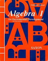 Algebra 1 Solutions Manual