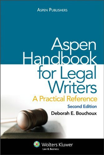 Aspen Handbook For Legal Writers