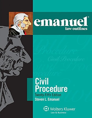 Emanuel Law Outlines Civil Procedure