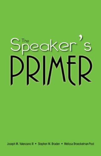 Speaker's Primer
