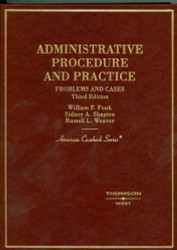 Administrative Procedure And Practice