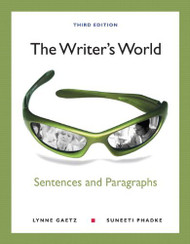 Writer's World Sentences And Paragraphs