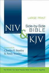 Niv And Kjv Side-By-Side Bible Large Print