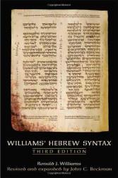 Williams Hebrew Syntax