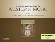 Oxford Anthology Of Western Music Volume 3