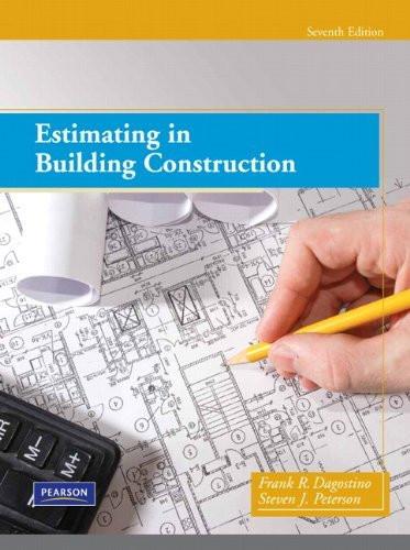 Estimating In Building Construction