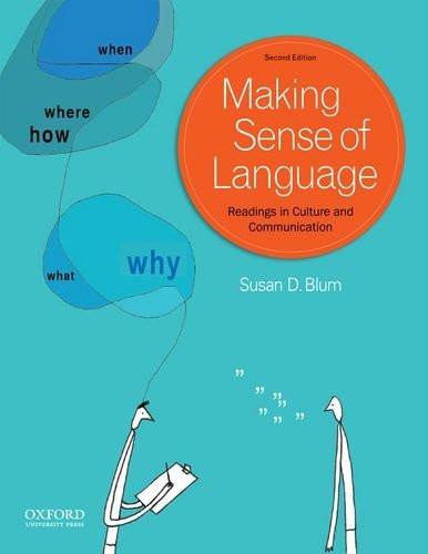 Making Sense Of Language