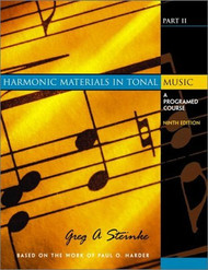 Harmonic Materials In Tonal Music