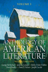 Anthology Of American Literature Volume 1
