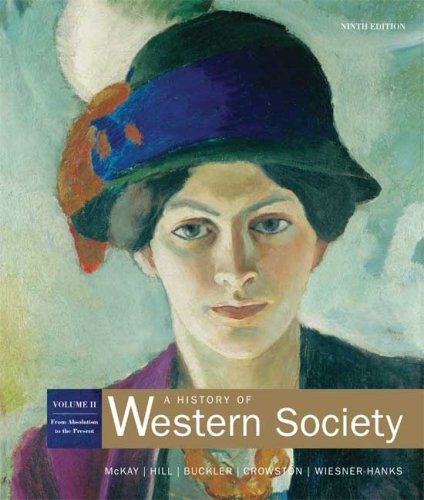 History Of Western Society Volume 2