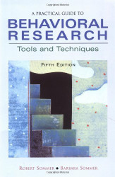 Practical Guide To Behavioral Research