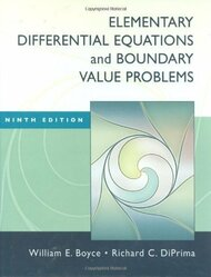 Elementary Differential Equations And Boundary Value Problems