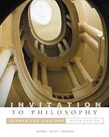 Invitation To Philosophy