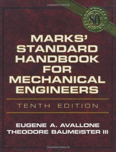 Marks' Standard Handbook For Mechanical Engineers