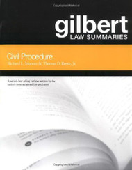 Gilbert Law Summaries Civil Procedure
