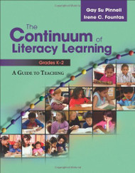 Continuum Of Literacy Learning Grades Prek-2