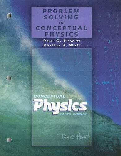 Problem Solving For Conceptual Physics