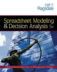 Spreadsheet Modeling And Decision Analysis