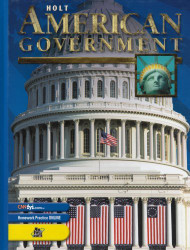 American Government Student Edition Grades 9-12
