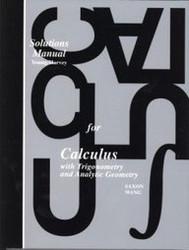 Saxon Calculus - Teacher's Edition